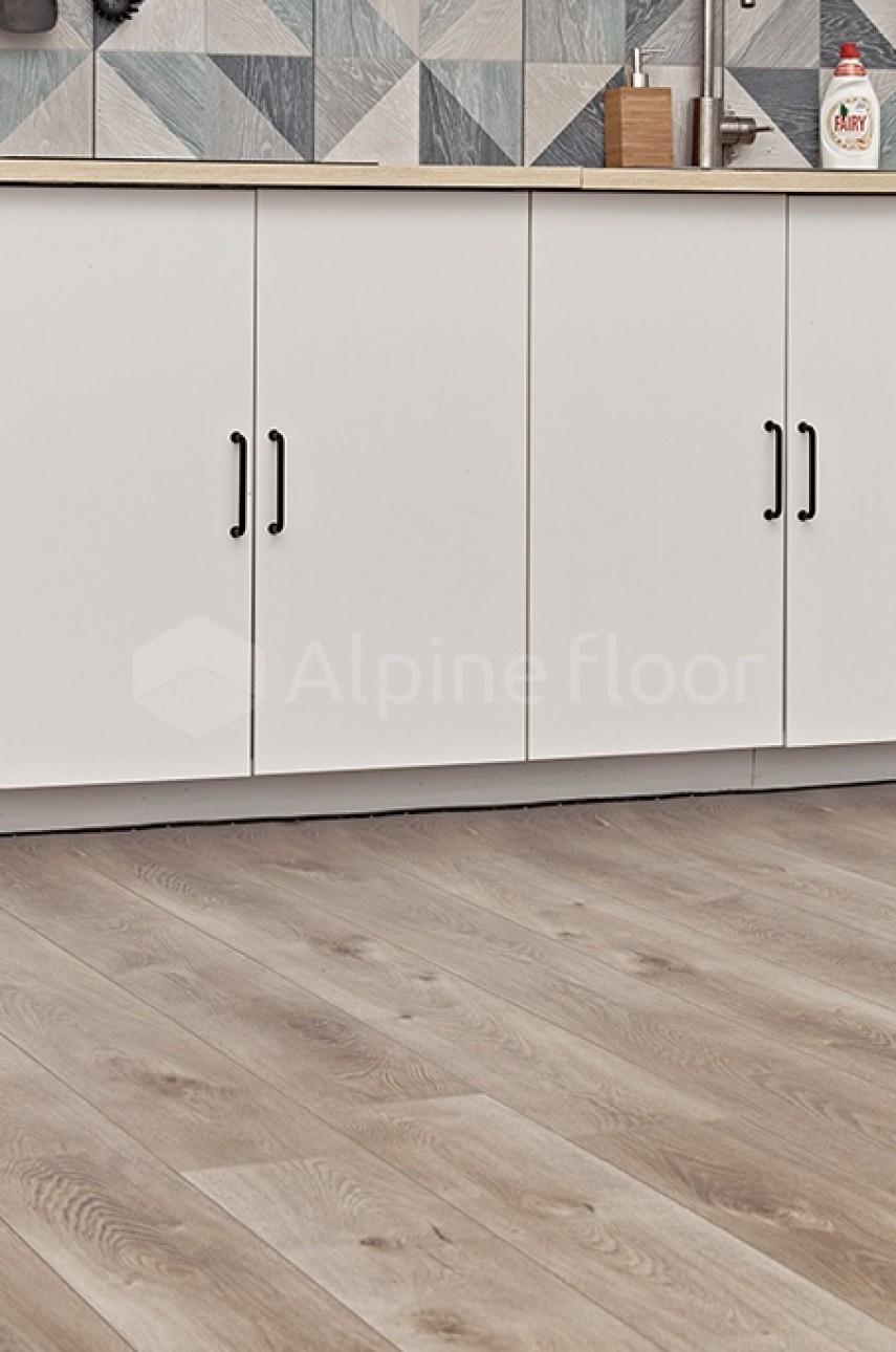 Виниловая плитка Alpine Floor Premium XL ECO7-5 Дуб Натуральный Отбеленный